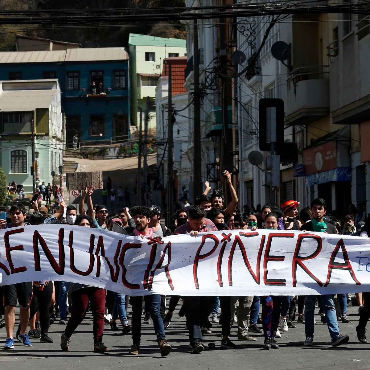 PROTESTOS CHILE
