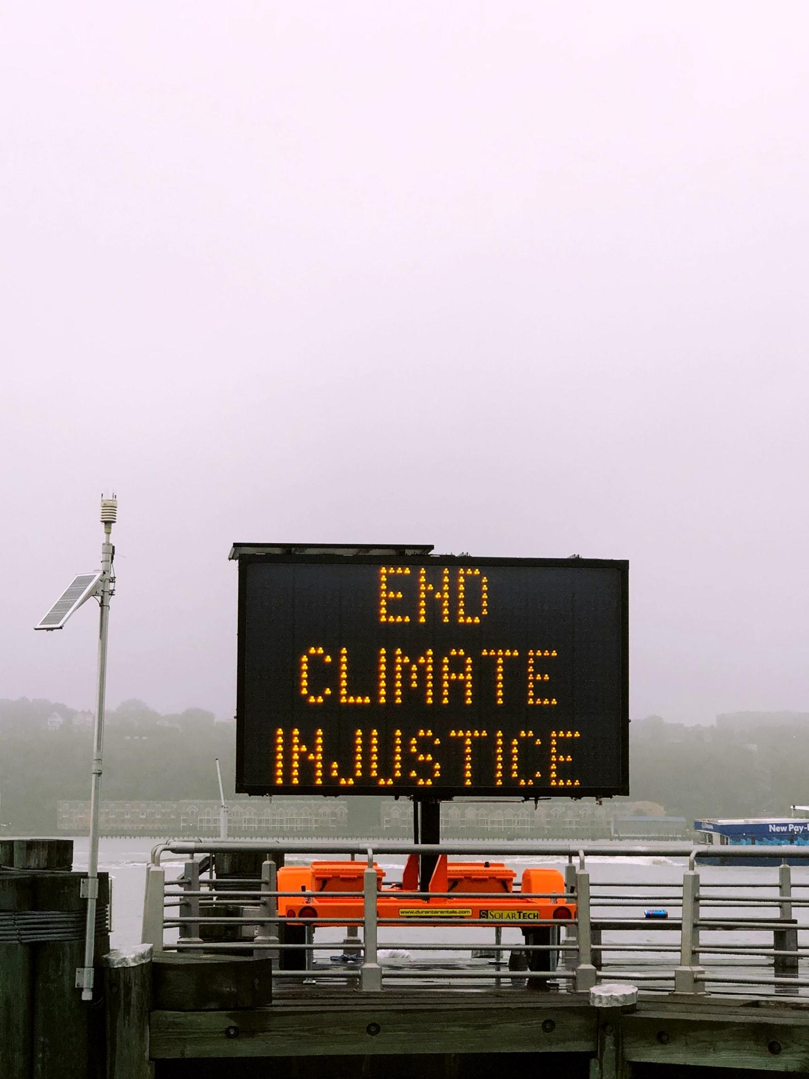 Fim da Injustiças Climaticas